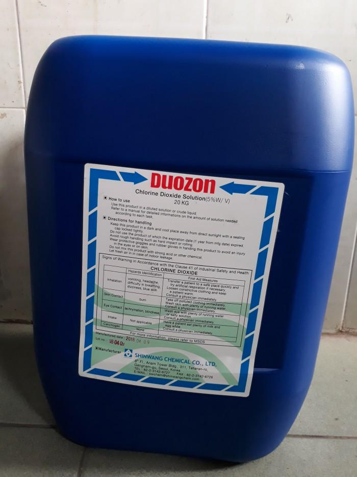 Chlorine Dioxide Duozon 5% (Chất tẩy rửa)4
