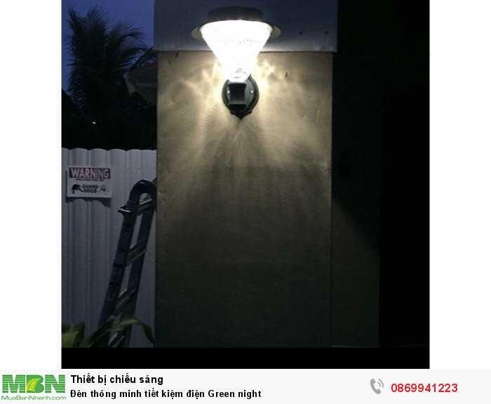 Đèn thông minh tiết kiệm điện Green night2