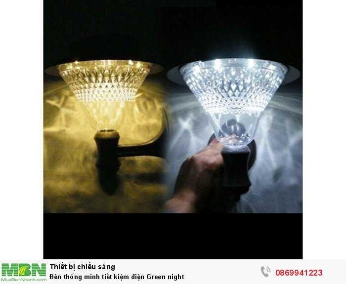 Đèn thông minh tiết kiệm điện Green night3