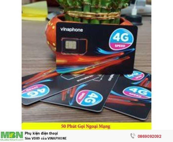 Sim VD89 của VINAPHONE2