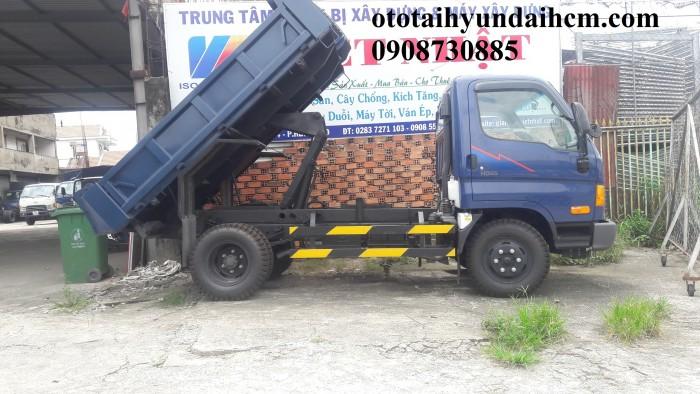 Xe ben hd65 2 khối, hyundai nhập khẩu 3 cục