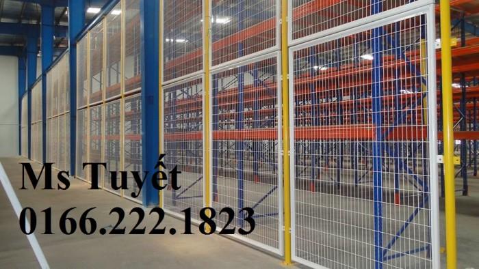 Lưới thép hàng rào tĩnh điện HRTD-032