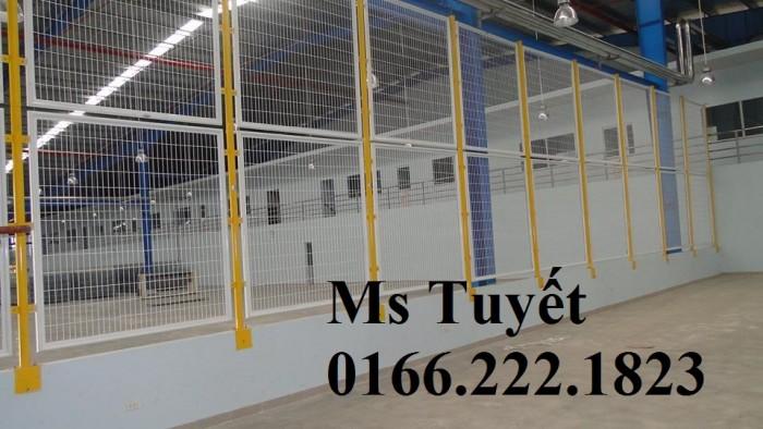 Lưới thép hàng rào tĩnh điện HRTD-037