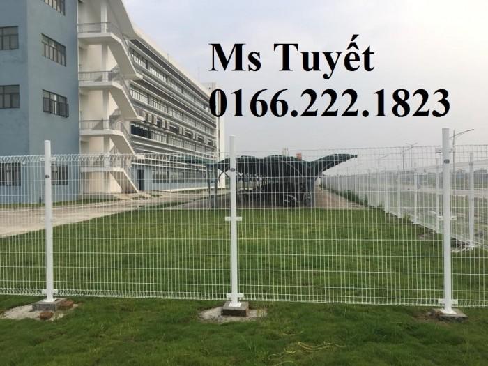 Lưới thép hàng rào tĩnh điện HRTD-034