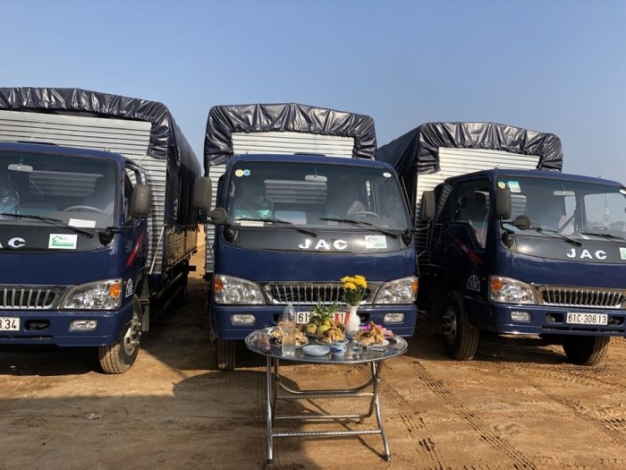 JAC sản xuất năm 2018 Số tay (số sàn) Xe tải động cơ Dầu diesel