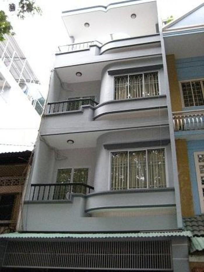 Bán gấp nhà mặt tiền Trần Văn Đang, 160m2, ngang 8m
