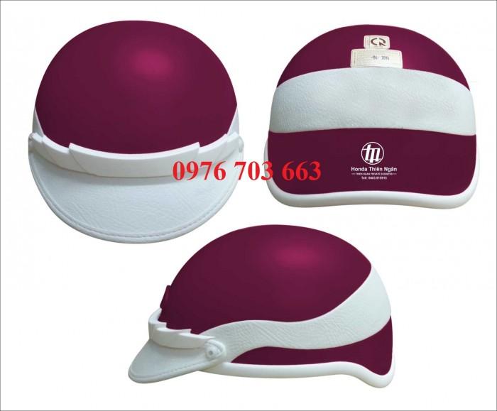 Xưởng sản xuất nón bảo hiểm số lượng lớn in logo giá rẻ