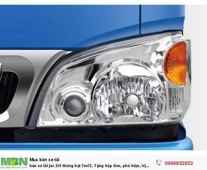 bán xe tải jac 2t4 thùng bạt 3m72, Tặng hộp đen, phù hiệu, trị giá 4,4 triệu