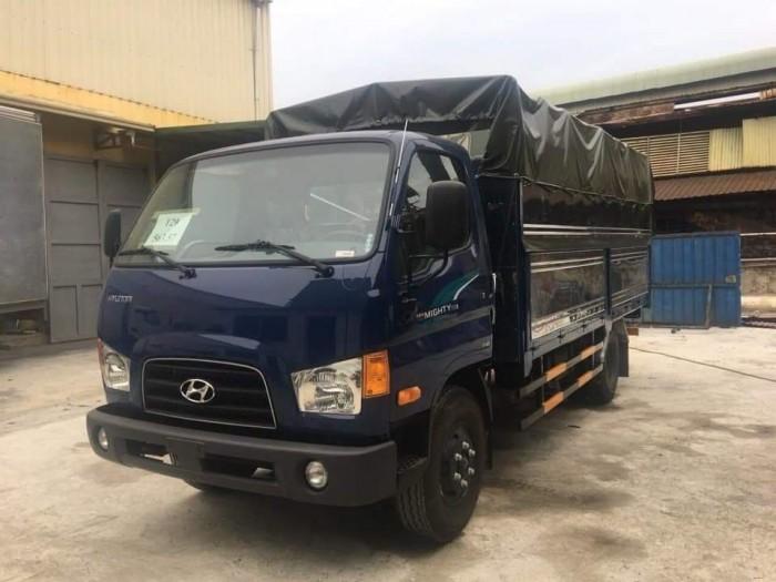 Xe Tải Hyundai New Mighty 75S Thùng Mui Bạt