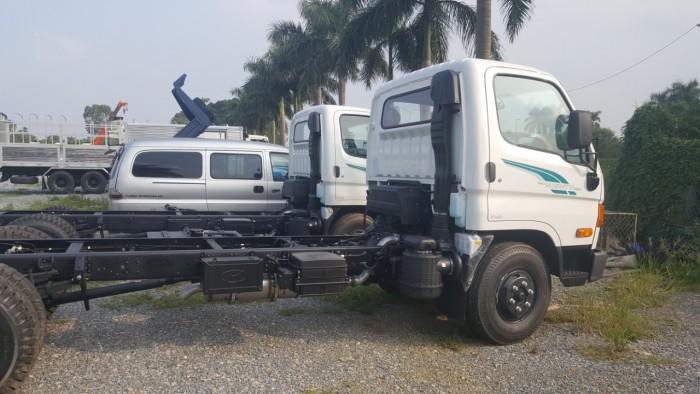 Xe Tải Hyundai New Mighty 110S Thùng Mui Bạt