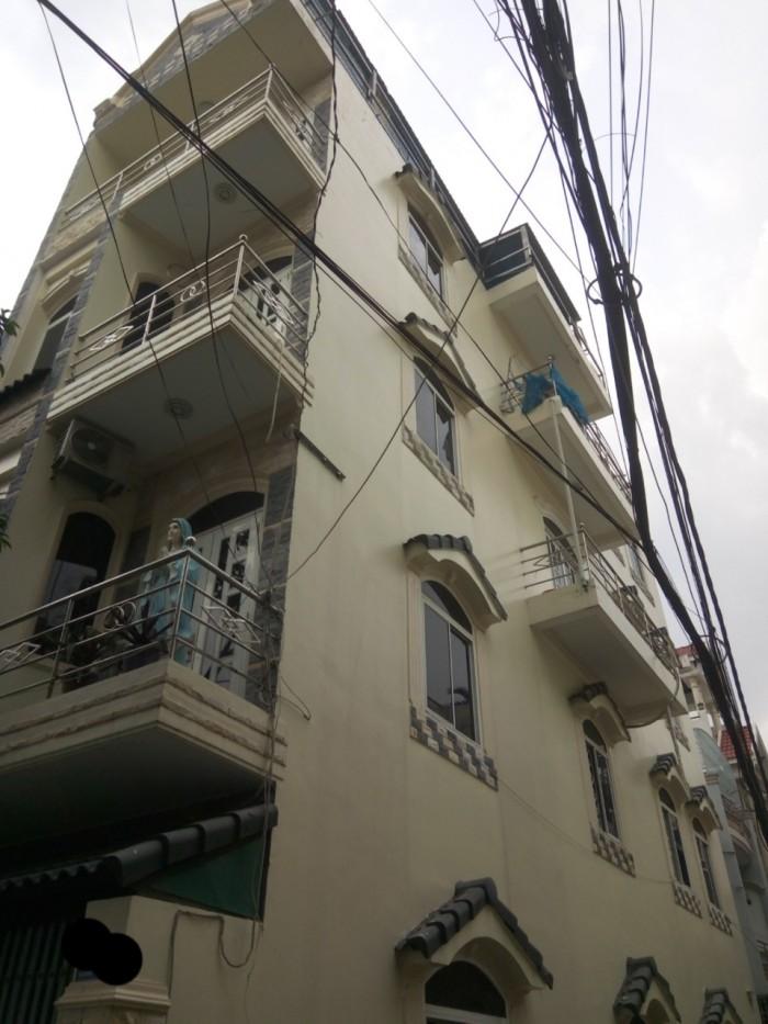 Bán Nhà Góc 2 Mặt Hẻm Nội Bộ Tân Sơn Nhì,Tân Phú. Dt 4x16m,4 tấm 8,5 tỷ