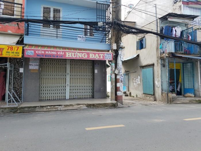 Nhà 4x18, 1 lầu, hẻm kinh doanh, 8m Tân Sơn Nhì