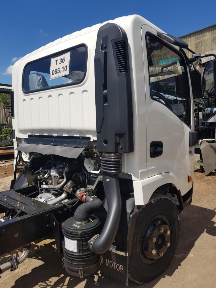 VT260-1 tải 1,9 tấn thùng dài 6,2m, lưu thông nội thành.