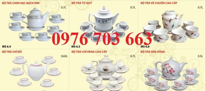 Alpha chuyên cung cấp bộ ấm trà sứ in logo giá rẻ1