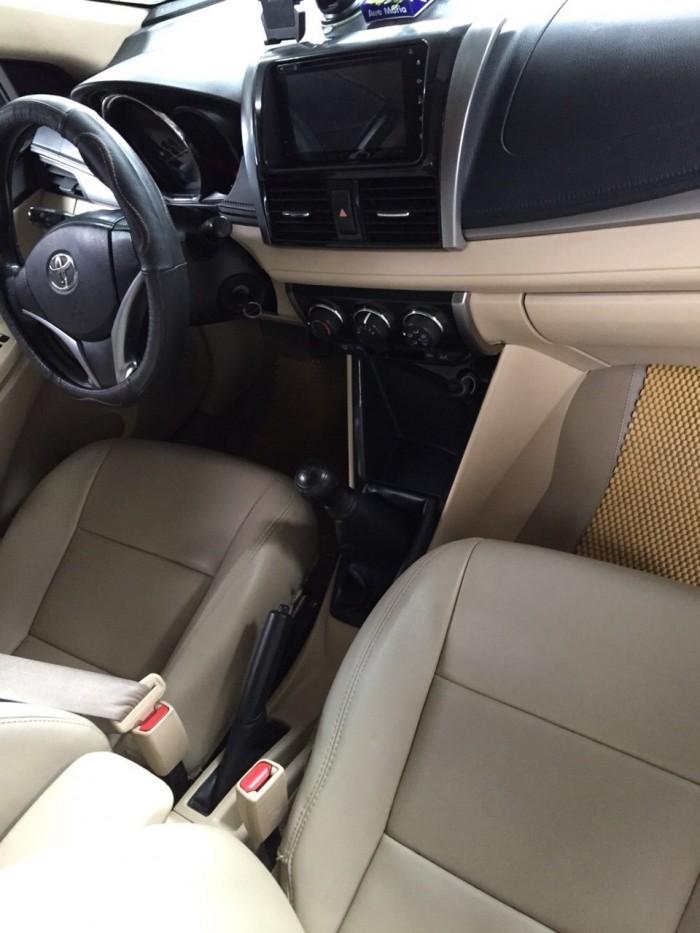 Bán Toyota VIOS E 1.5MT màu vàng cát số sàn sản xuất 2016 gốc Sài Gòn 6