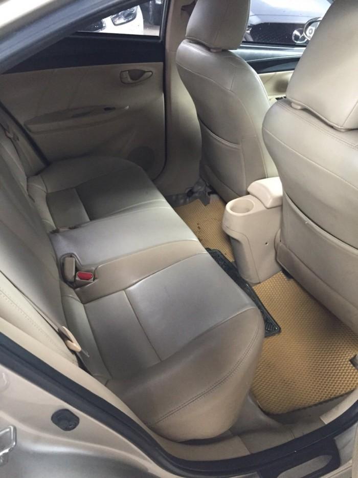 Bán Toyota VIOS E 1.5MT màu vàng cát số sàn sản xuất 2016 gốc Sài Gòn 8