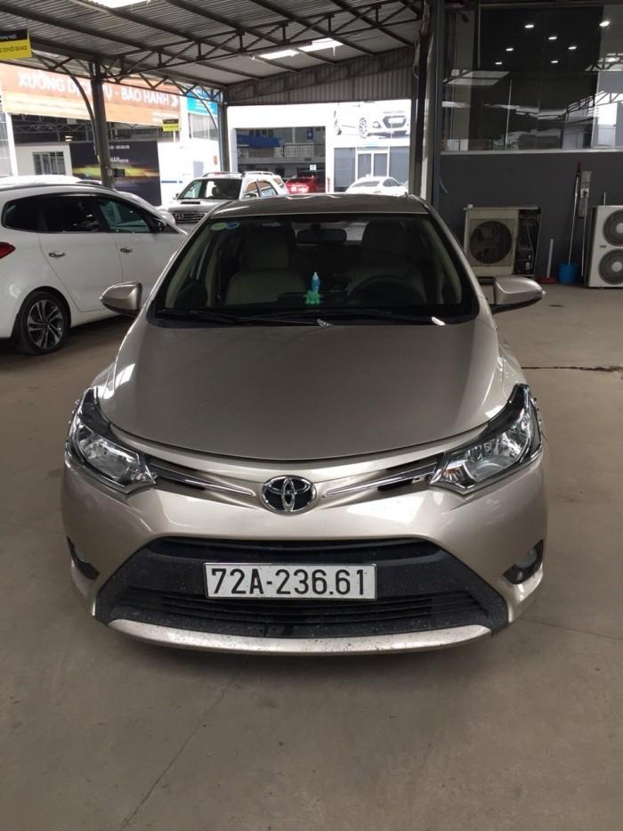 Bán Toyota VIOS E 1.5MT màu vàng cát số sàn sản xuất 2016 gốc Sài Gòn 3