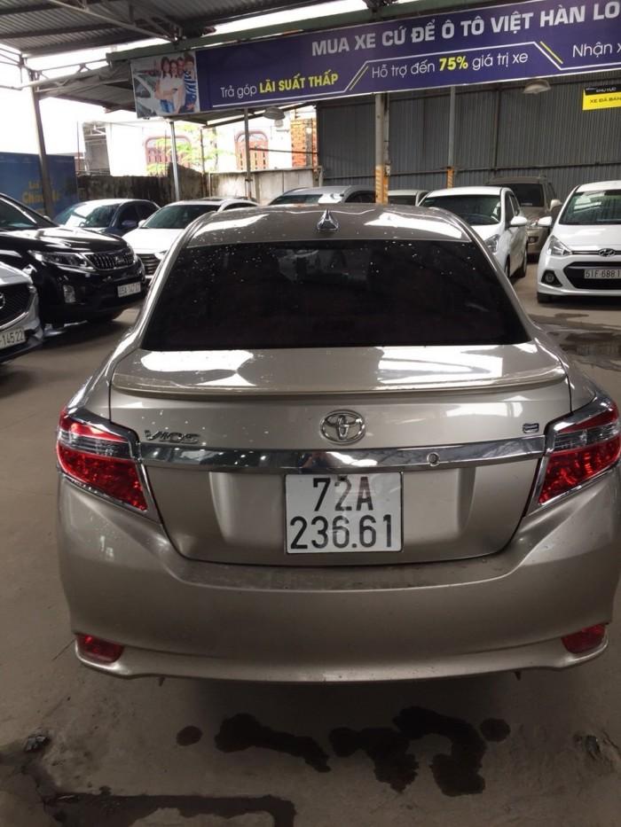 Bán Toyota VIOS E 1.5MT màu vàng cát số sàn sản xuất 2016 gốc Sài Gòn 4