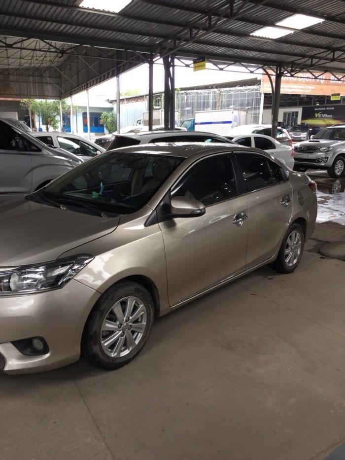 Bán Toyota VIOS E 1.5MT màu vàng cát số sàn sản xuất 2016 gốc Sài Gòn 2