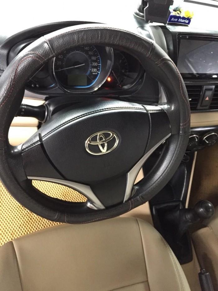 Bán Toyota VIOS E 1.5MT màu vàng cát số sàn sản xuất 2016 gốc Sài Gòn 5
