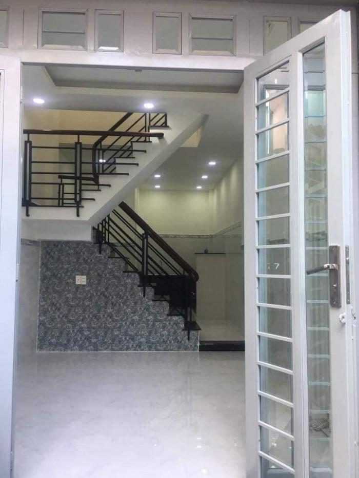 Nhà Gò vấp 3,3 tỷ, đường Nguyễn Thượng Hiền,dt: 28 m2, 2 lầu,nhà mới hẽm rộng.