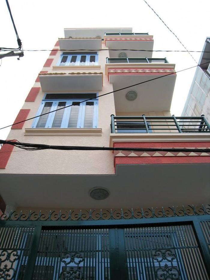 Khu VIP Phường 7 Phú Nhuận, 4 tầng 50m2