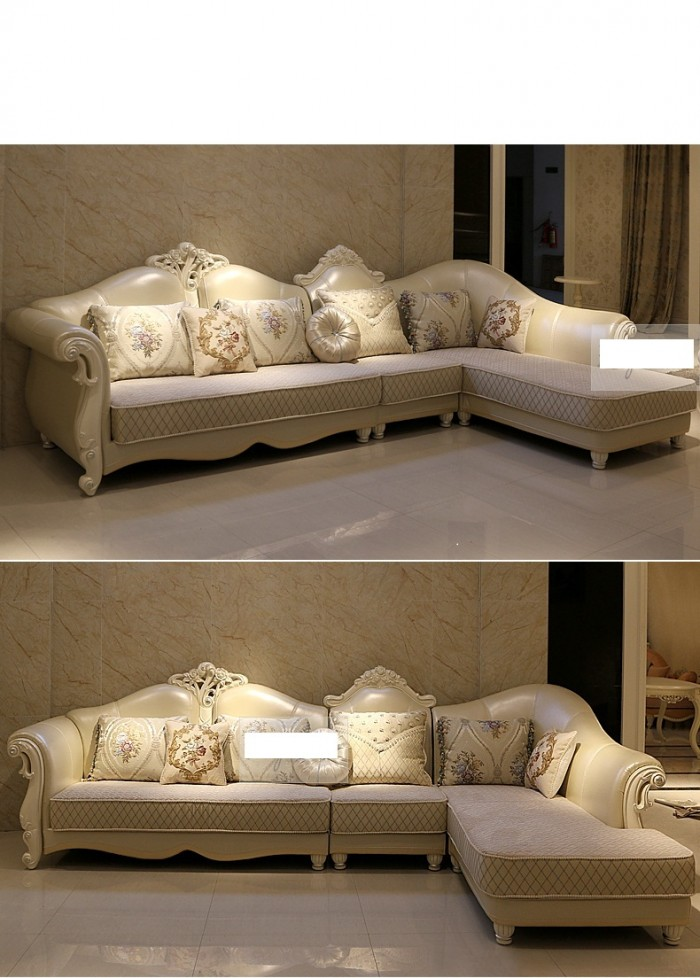 bàn ghế phòng khách góc phong cách châu âu5