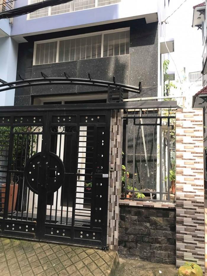 Chính chủ bán gấp nhà mặt tiền đường Cô Bắc 105.6m2 x 5 tầng, 12 tỷ Phú Nhuận.