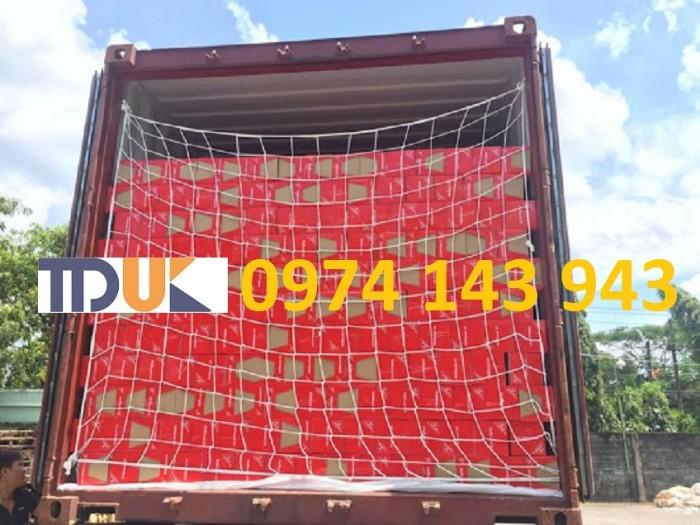 Lưới chống rơi hàng container1