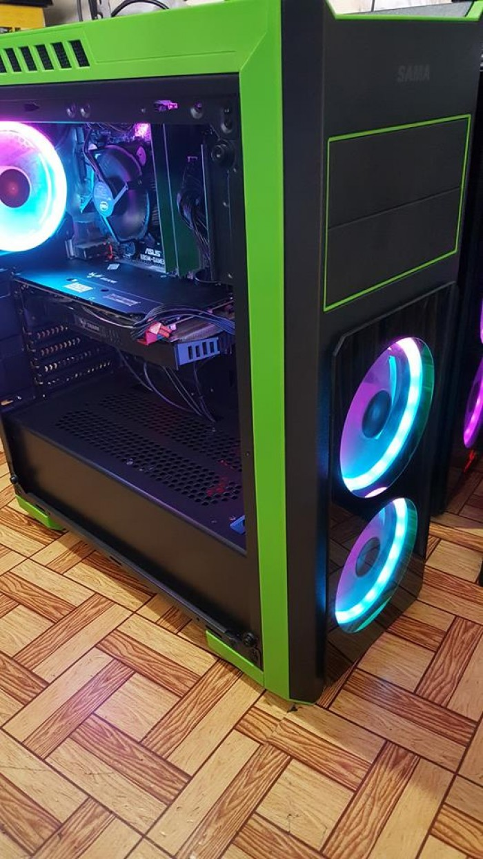 Thùng PC: Mainboard B85M-Gamer, i7-4790, 8GB, SSD 120, GTX1060 6GB0