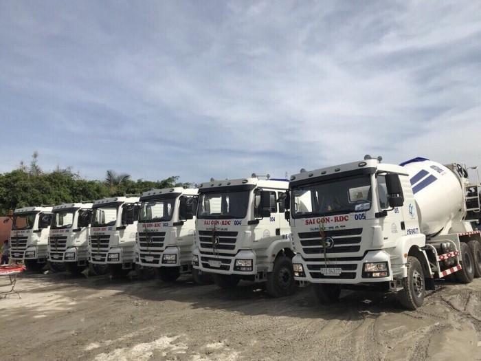 Ô tô trộn bê tông Shacman 2017, động cơ ưu việt được ưa chuộng trên thị trường !!!!