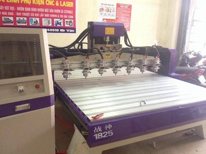 Máy đục gỗ vi tính 8 đầu, máy đục tranh 8 đầu giá rẻ tại Nam Định0
