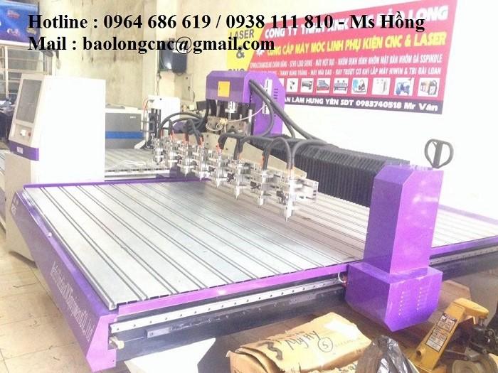 Máy đục gỗ vi tính 8 đầu, máy đục tranh 8 đầu giá rẻ tại Nam Định1