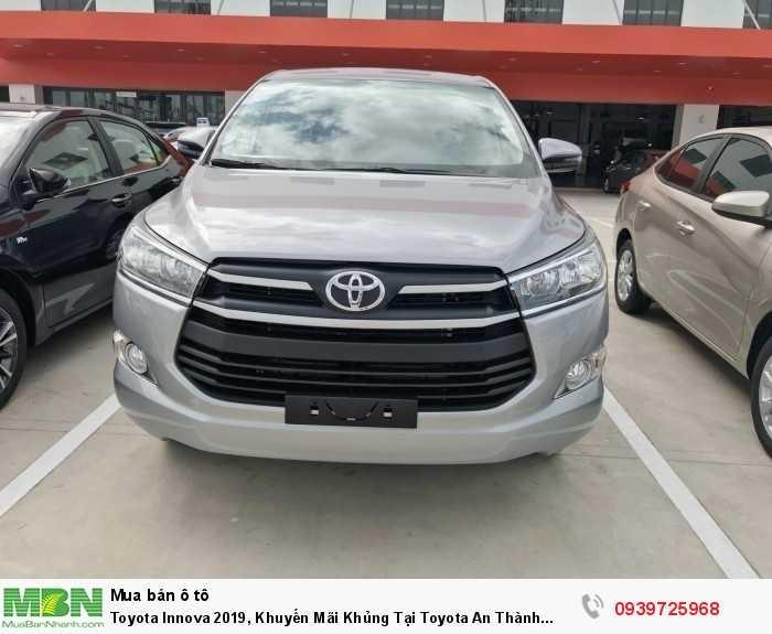 Toyota Innova 2019, Khuyến Mãi Khủng Tại Toyota An Thành Fukushima ,Trả Trước 180Tr