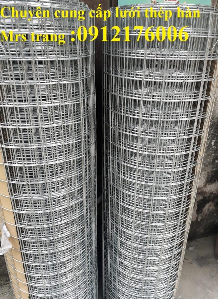 Lưới thép hàn mạ kẽm D3 ô 50 x504