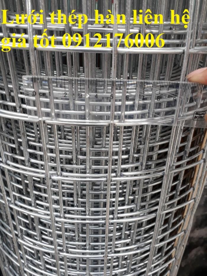 Lưới thép hàn mạ kẽm D3 ô 50 x503