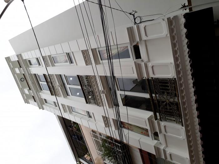 Nhà mới - 5 tầng đường Đất Thánh quận Tân Bình.  Cần tiền làm ăn nay bán nhà đường Đất Thánh, Phường 6, Tân Bình