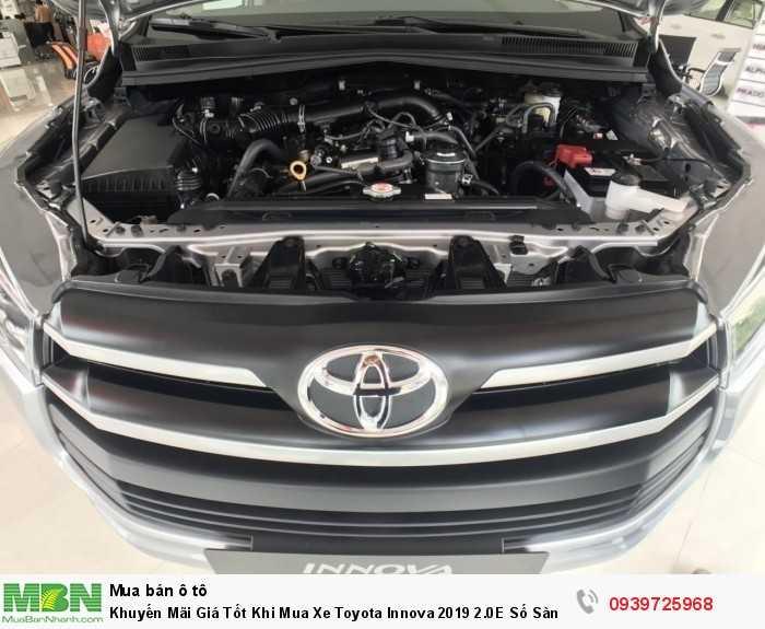 Động cơ mạnh mẻ, tiết kiệm nhiên liêu. Mua xe trả góp Toyota Innova tại Toyota An Thành Fukushima - Đại lý Toyota 100% vốn Nhật