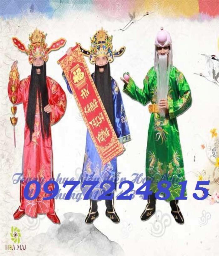 Thuê trang phục Phúc Lộc Thọ giá rẻ nhất tại TPHCM