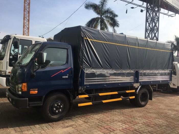 Gía xe Hyundai 6,5T - thùng mui bạt. 2