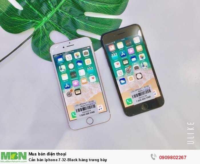Cần bán iphone 7-32-Black hàng trưng bày1
