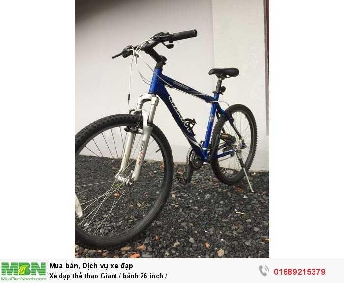 Xe đạp thể thao Giant / bánh 26 inch / 3