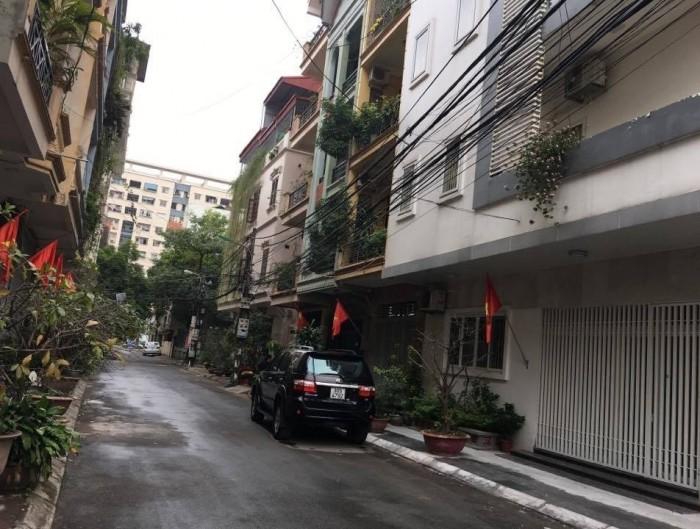 Bán nhà phân lô Lạc Long Quân Võng Thị Trích Sài Tây Hồ ngõ thông ô tô 55m2x4 tầng MT 4.5m