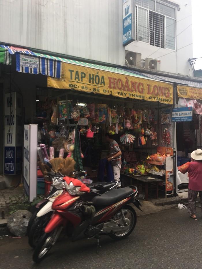 Nhà ngay trong chợ Tân Hương, 4x16m, cấp 4, sổ hồng