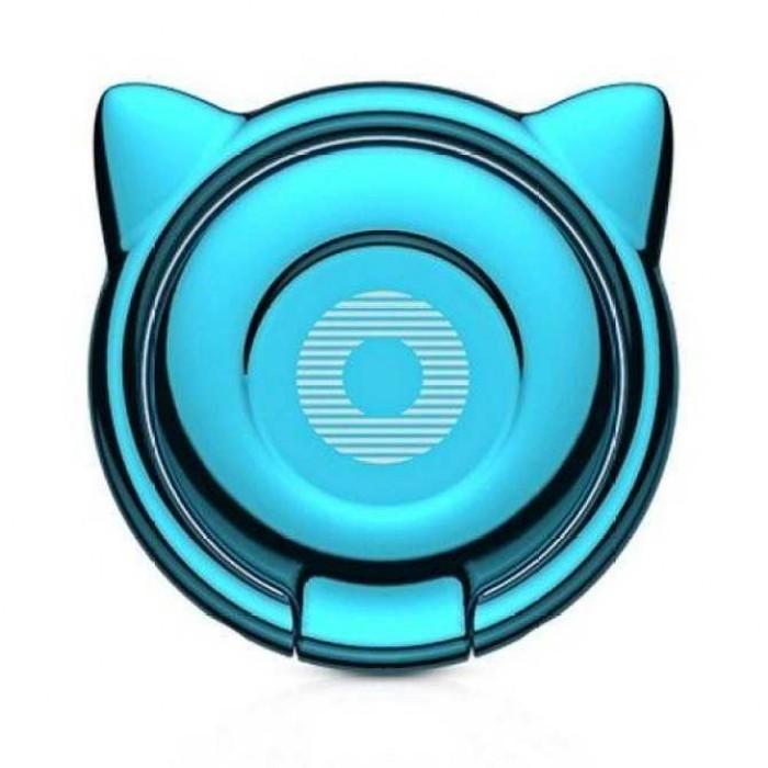 Giá đỡ hít điện thoại iring cao cấp - cute cat ear ring2