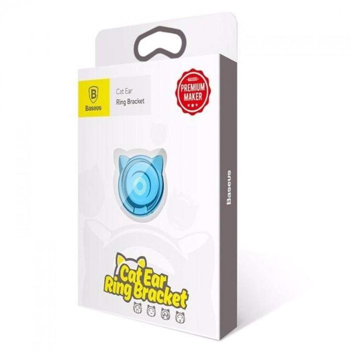 Giá đỡ hít điện thoại iring cao cấp - cute cat ear ring3