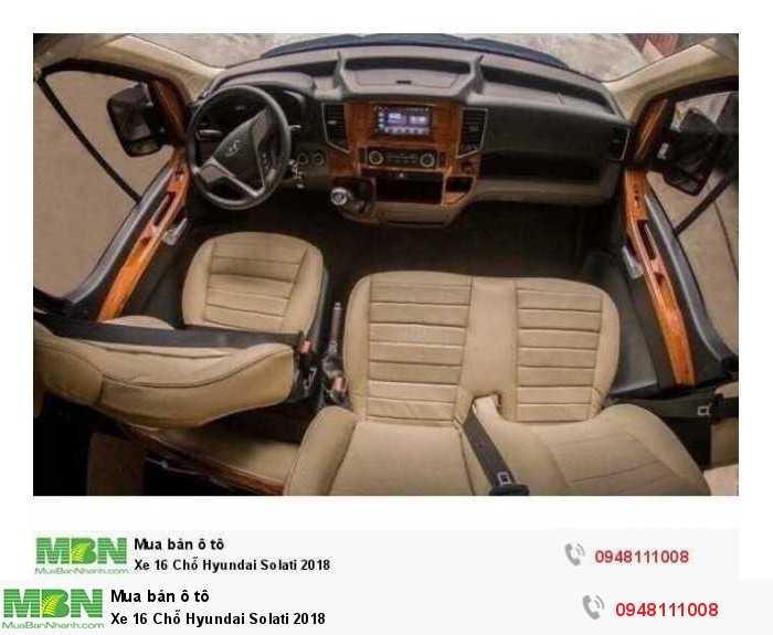 Xe 16 Chỗ Hyundai Solati 2018