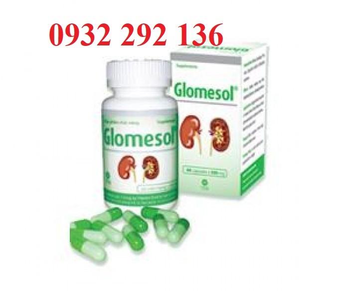 Glomesol - công thức từ 5 loại thảo dược hỗ trợ giảm hội chứng thận hư