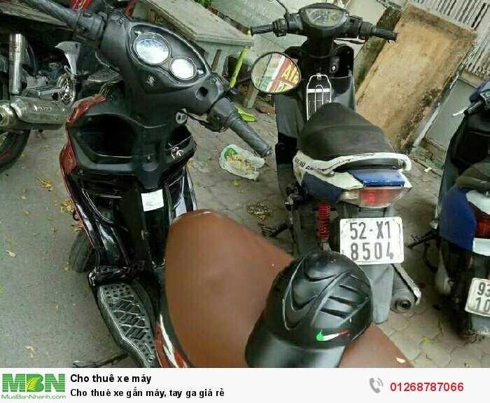 Cho thuê xe gắn máy, tay ga giá rẻ