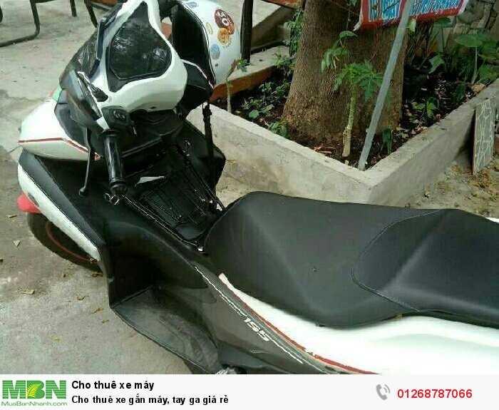 Cho thuê xe gắn máy, tay ga giá rẻ 1